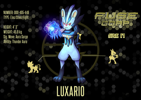 FUSE Corp: Site 17 - Luxario by leopardheart982