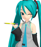 MMD Pencil Download by Rocky-Roo