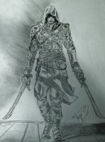 Assassin's Creed 4 Black Flag by divjace