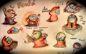 This page have Fawful by BeadzyAi