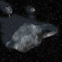 Asteroid by RavagerOfWorlds