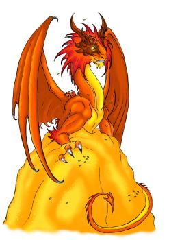 Smaug - Commission for my Customer by Abrax88