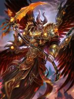 SMITE Demonic Thanatos by Scebiqu
