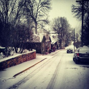 Snowy Manitou Picture by existential-courage