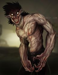 Mutated feral ghoul by Surk3