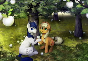 CM - the white orchard by mr-tiaa