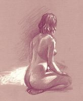 Life Drawing of Camille 4 by Harnois75