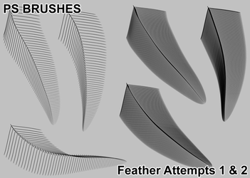 Feather Attempt Brushes [Download In Desc] by AwesomeStock
