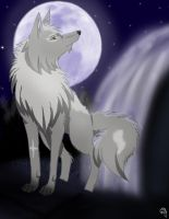 Commission Wolf by wolfnhorseluver101