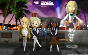 Teens After School - The Exotics: Sunset by GrandLS