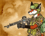 Granadan soldier by FoxInShadow