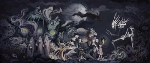 The Nightmare Parade by soul-rocketeer