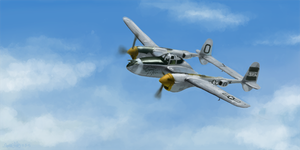 p-38 sketch by whatthebooty