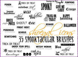 100x100 Spooktacular Brushes by kissncontrol