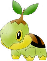 Photoshop Colored Turtwig