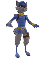 Sly Cooper: TiT (Vita) - Sly Cooper by o0DemonBoy0o