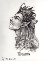 Thranduil Sketch by she1badelf