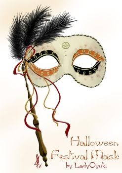 Halloween Mask Idea by LadyOyuki