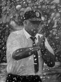 Woody Hayes by Surreal-Portrait