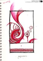 red fineliner gimpsicle by SquareFrogDesigns