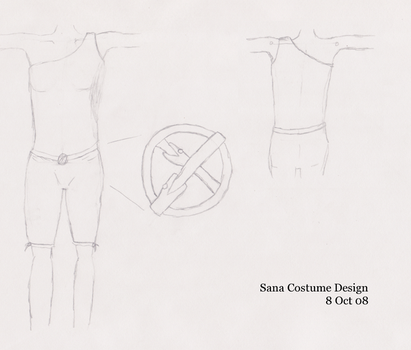Sana Costume Design by BrentNewhall
