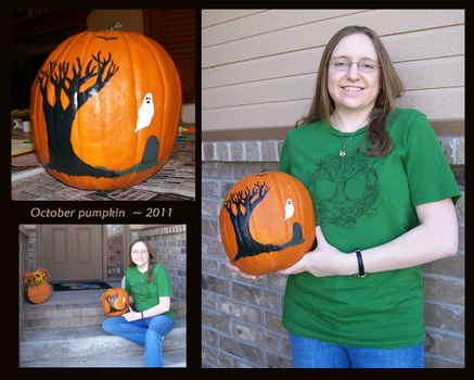 My October Pumpkin - 2011 by umi-pryde