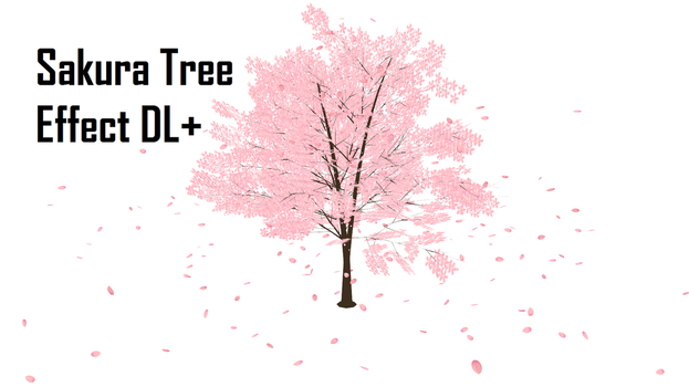 [MMD] Sakura Tree Effect DL+ by Haztract