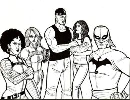 Heroes for Hire by tedkordlives
