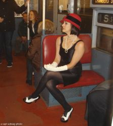Vamping on the museum R1-9 train-Dec-2013-c by capt-sub