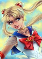 Sailor Moon by Ariata