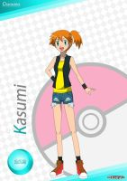 PKMN V - Misty A4 Artwork (VER. 4)