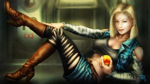 Android 18 by GeorgeBenta