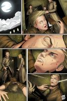 Comic page sample_Color by dotlineshape