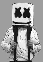 Marshmello - Alone by Endman3010