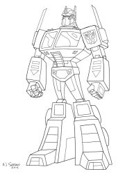 G1 Animated Optimus Prime by AJSabino