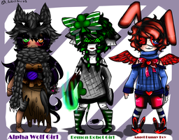 Rare Adoptables (OPEN) by Lolalilacs