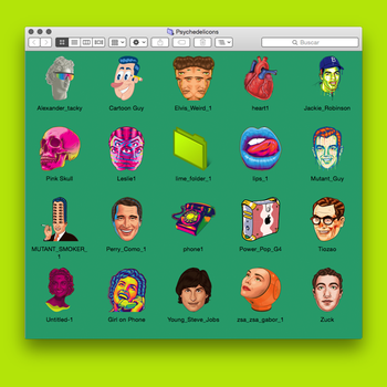 Psychedelicons Vol One by roberlan