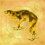 Wolf of Time by yuumei