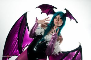 Morrigan Aensland by x-Alexiel-x