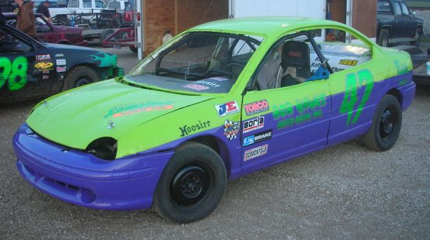 1996 Dodge Neon Pony Stock Car By Classic Art By Jp On Deviantart