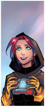 TERRA teaser panel by JoeyVazquez