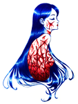 Tomie - Blood and Lust by SketchMeNot-Art