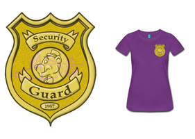 Purple Guy - Security Shirt by xCailinMurre