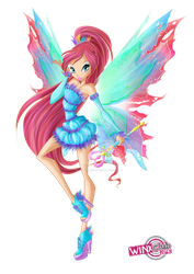Bloom Mythix First Version by WinxClubRus