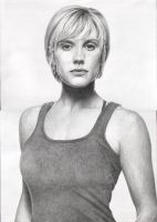 Katee Sackhoff by Delichon