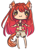 Doodle Chiib by Reverrii