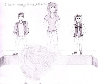 I have a message for the Divergent by Chibi-Li