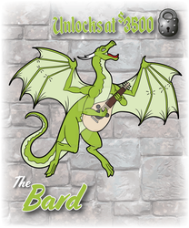 RPG Dragon The Bard by The-GoblinQueen