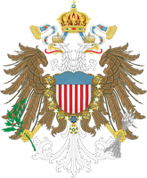 An American Monarchy - Coat of arms by Regicollis