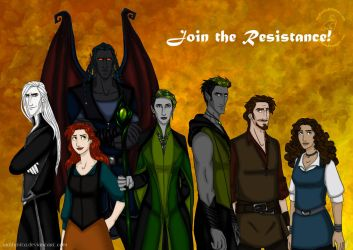 Join the Resistance! by wolfanita